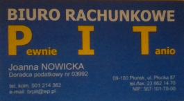 Biuro Rachunkowe, Płocka 85A, 09-100 Płońsk
